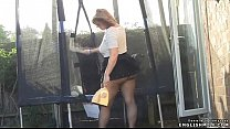 Pantyhose celebrities upskirt
