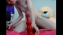 Anal big sex toy