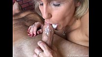 Old elderly blowjob