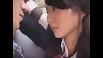 Japanese teens kissing sexy