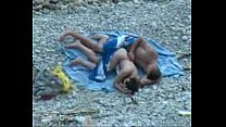 Beach amateur sex video